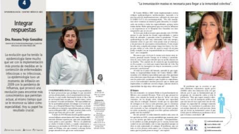 """Entrevista de dos Fellows AMSA en la revista """"Líderes Mexicanos"""", agosto 2021."""